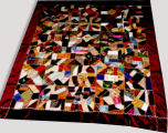 Silk and Velvet Crazy Quilt
