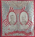 Theodore Roosevelt and Charles Fairbanks Campaign Scarf