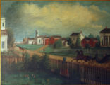 Village of Wellington Painting