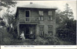 William McKinley Birth Home in Riverside Park Postcard