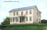 William McKinley Birth Home at McKinley Heights Postcard