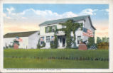 William McKinley Birth Home at McKinley Heights With Outbuilding Postcard