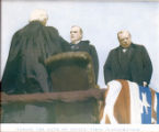 William McKinley Taking Presidential Oath of Office Photograph