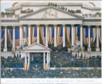 William McKinley Second Presidential Inauguration Photograph