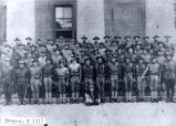 World War I 146th Infantry, Company H Soldiers Photograph