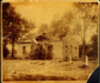 Wyandot Mission Church Before Restoration Photograph