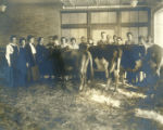 Bowling Green Normal College Milking and Dairying Class Photograph