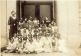 Bradford School Third and Fourth Grade Class Photograph