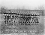 Canton Bull Dogs Football Team Photograph