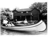 Canoeing in Lower Shaker Lake Photograph