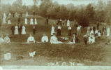 Adams County Normal School Students at Serpent Mound Photograph