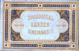 Cincinnati Zoological Gardens Souvenir Book