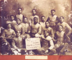 Charles Follis and the Wooster High School Football Team Photograph