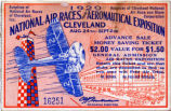 Cleveland National Air Races Ticket