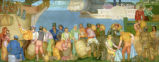 Cleveland's Waterfront About 1835 Mural
