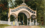 Coney Island Entrance Postcard