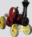 Cooper Self-Steering Traction Engine