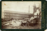 Dueber Hampden Factory After Cyclone Damage Cabinet Cards