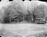 Electric Trolley Car Photograph