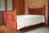 Frances Dawes Hand-Carved Bed