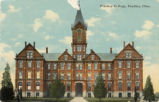 Findlay College Old Main Postcards