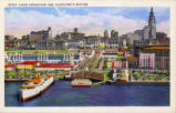 Great Lakes Exposition Color Postcards