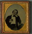 George Armstrong Custer Ambrotype