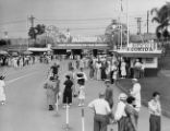 Great Lakes Exposition Midway and Streets of the World Entrance Photograph