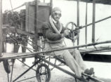 Glenn Curtiss in the Cockpit Photograph