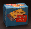 Ohio Match Company Safety Matches