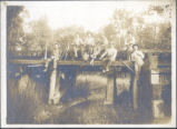 Old Black Diamond Bridge Photograph